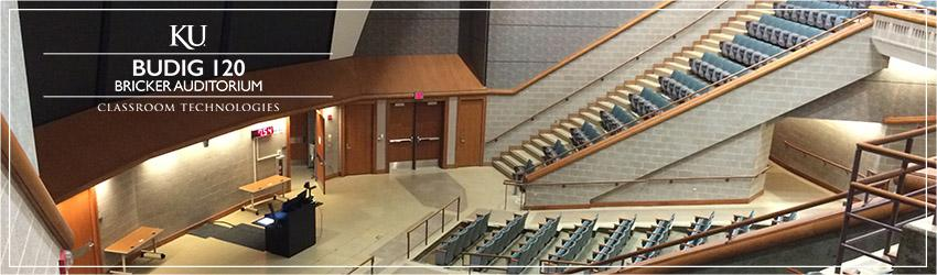 Budig 120 - Bricker Auditorium